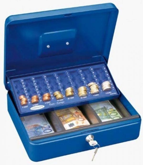 Příruční pokladna Wien- Euro modrá