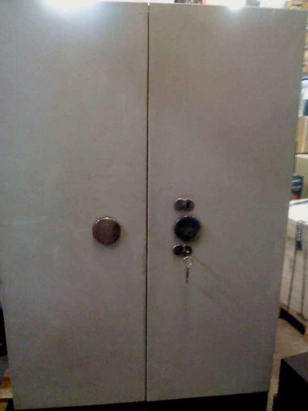 Trezorová skříň KOVONA-dvoukřídlá bazar šedá