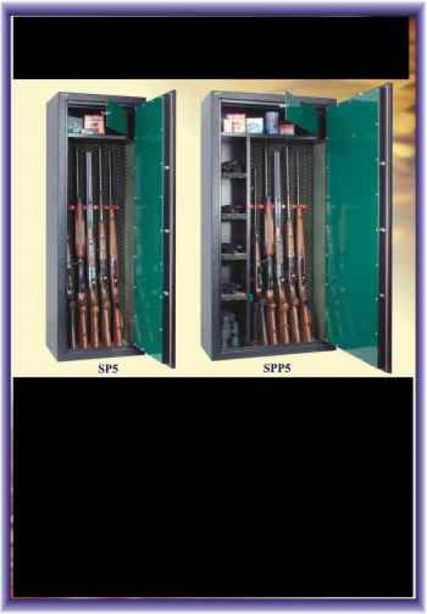 Trezor na zbraně SP-5 čalouněná - trezory na zbraně