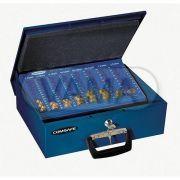 Pokladna příruční Rottner Brussel euro modrá