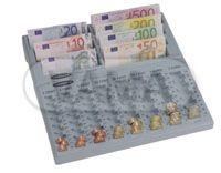 Mincovník+pořadač bankovek Concept-notes Euro