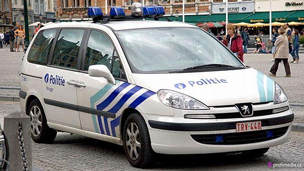Nevydařená bankovní loupež v Belgii