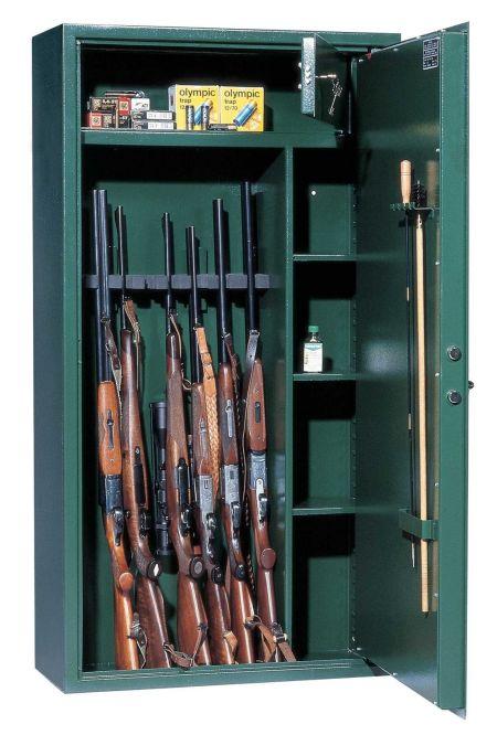 Trezory na zbraně v USA