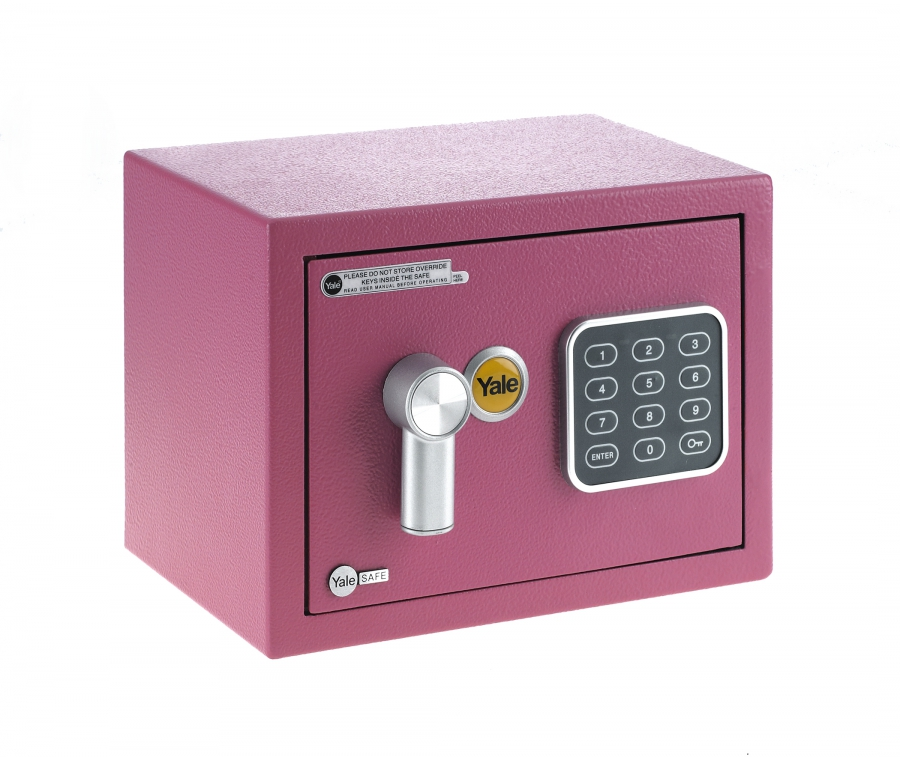 Sejf Yale Value Mini Pink YSV 170