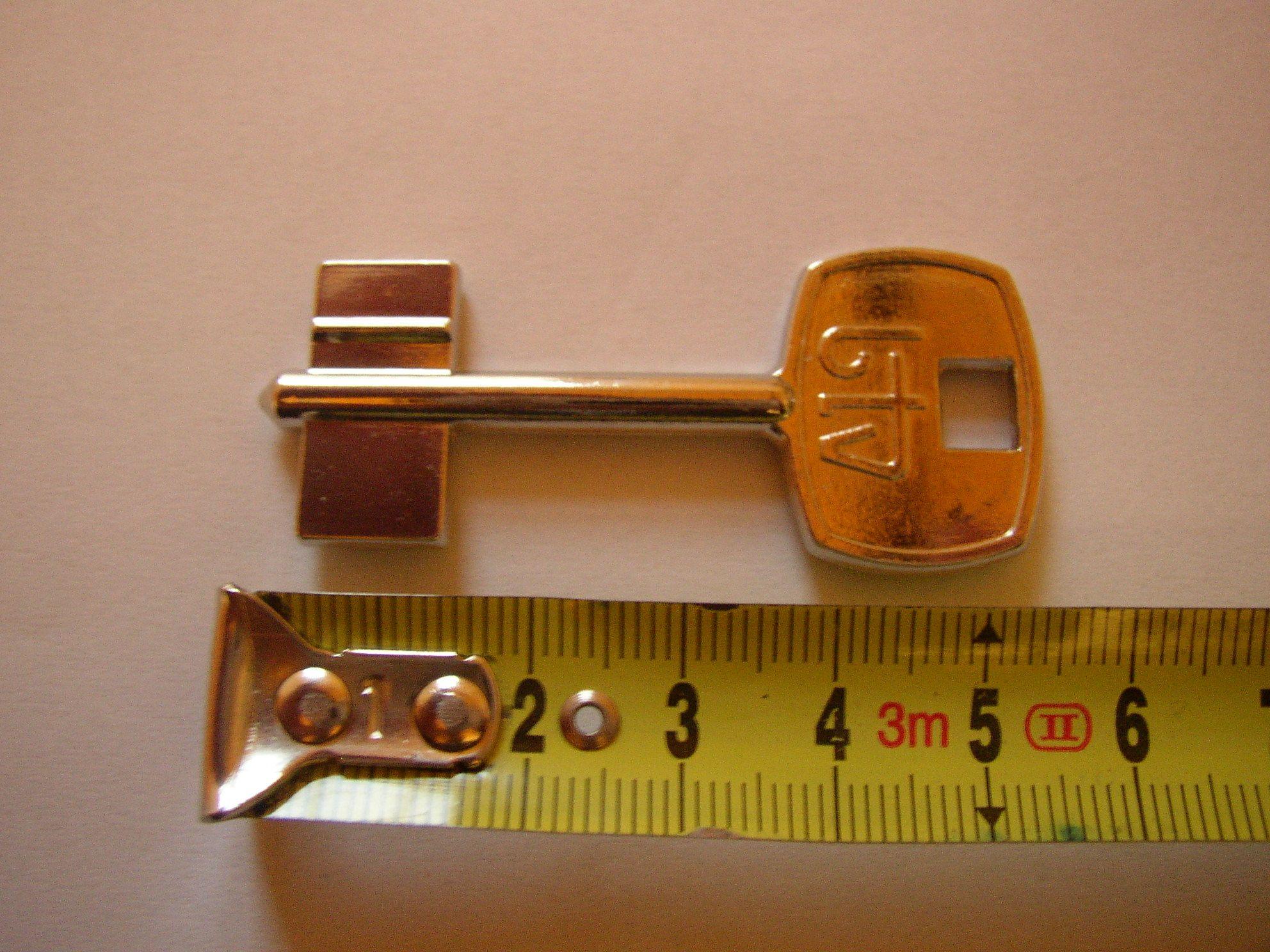 Trezorový klíč BTV 1030