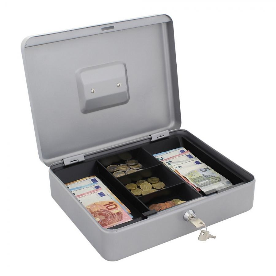 Pokladna Cash VAMA-4 stříbrná