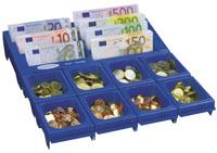 Mincovník+pořadač bankovek Cashnotes-Euro