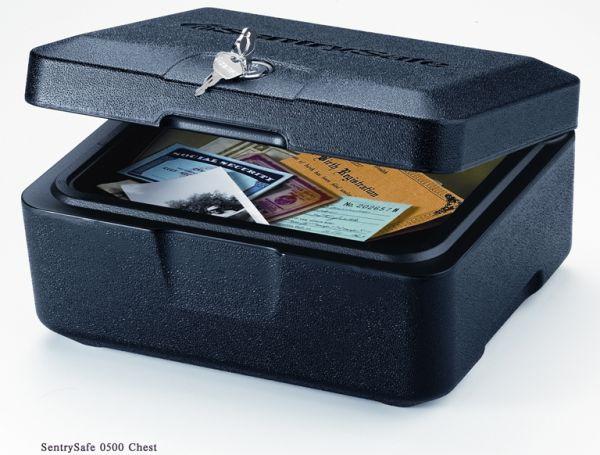 Pokladna box SentrySafe 0500 protipožární