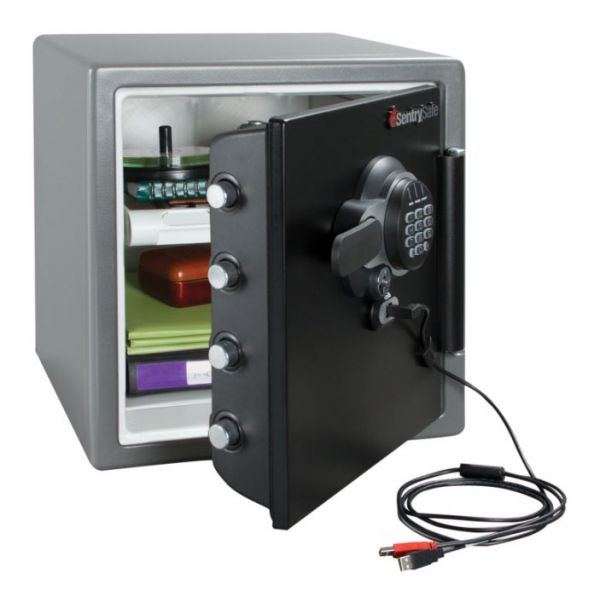 Sejf protipožární SentrySafe Fire- Doku USB