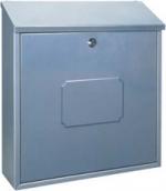 Poštovní schránka Rottner Caorle  stříbrná