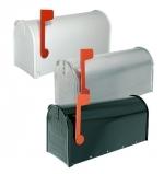 Rottner Mailbox Alu černá vč. STOJANU -americká poštovní schránka