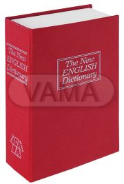 Příruční pokladna Kniha-Book Case